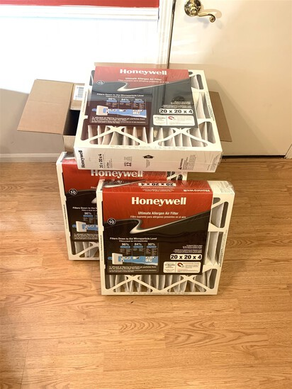 3 New! Honeywell Filters