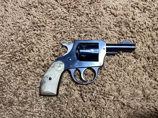 Vintage H&R 22 Cal Revolver Pistol