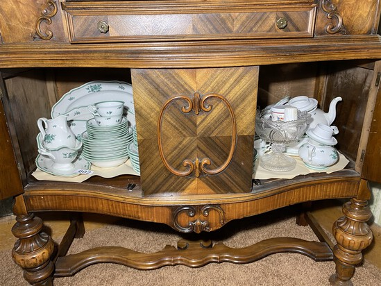 Large set of antique Rosenthal China - Chippendale pattern