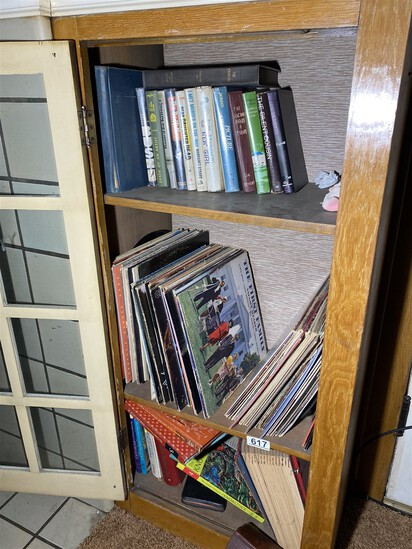 Large qty vintage records and more