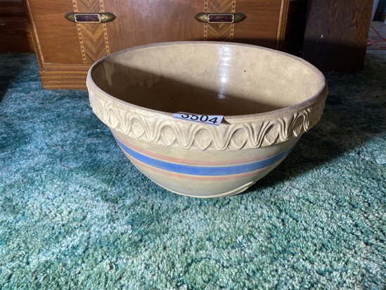 "Unusually large mixing bowl - 14.5"" across"