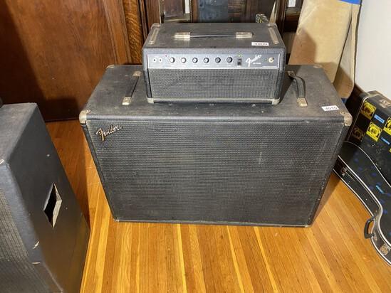 Vintage Fender Speaker Cabinet