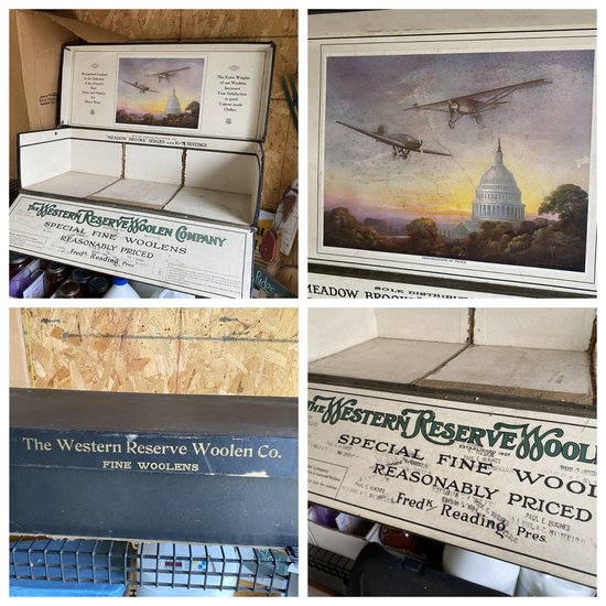 Rare large Advertising Box