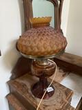 Electrified antique lamp