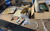 Table lot of assorted vintage items