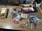 Large lot of better antique buttons