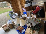 Large lot of assorted items in garage