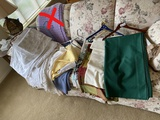 Group lot of vintage linens