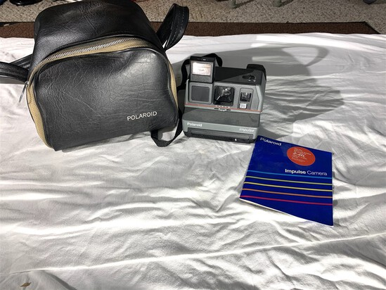 Vintage Polaroid Impulse Camera