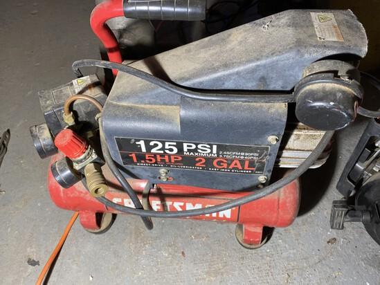 125 psi 2 Gal Craftsman Air compressor