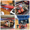 58in Gas Powered RC Boat and Accessories. See Photos!