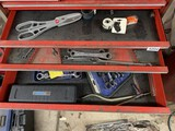 Contents of 3 Drawers Including- Tin Snips, Wrenches, Gear Wrenches & More