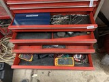 Contents of 4 Drawers Including - Tap & Die Set, Allen Wrenches, Body Hammers & More