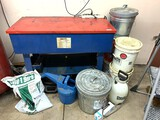 Chicago 40 Gallon Parts Washer,  Accessories & Floor Dry