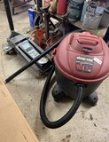 Shop Vac, Various Sets of Jack Stands & Floor Jack (is missing wheel)