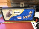 Nestle Ice Cream Haagen-Dazs  Lighted Sign