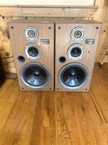 2 Technics SB-CR77 3 Way Speaker System