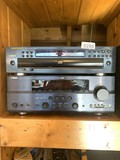 Marantz  5 Disc Cd Changer & Yamaha Receiver