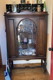 China Cabinet with Contents