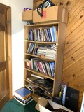 Book Shelf, Books & Contents