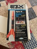 Estes Alpha III Flying Model Rocket Starter Kit.  NO ROCKET IS INCLUDED IN THIS KIT!