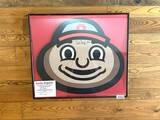 Brutus Buckeye Jumbo Magnet with Authenticity Signature from Archie Griffin