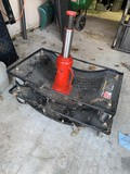 2 Haul Master Vehicle Dolly & Big Red Hydraulic Bottle Jack