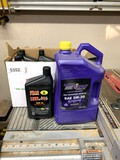 1 Gallon Jug New Royal Purple Motor Oil and 6 New Brad Penn Break-In Oil