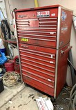 17 Drawer Snap-On Double Stack Tool Box (NO KEY)