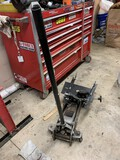 3 Ton Floor Jack with Transmission Adapter