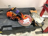 Welding Mask, Gloves & Hobart Twin Welding Hose