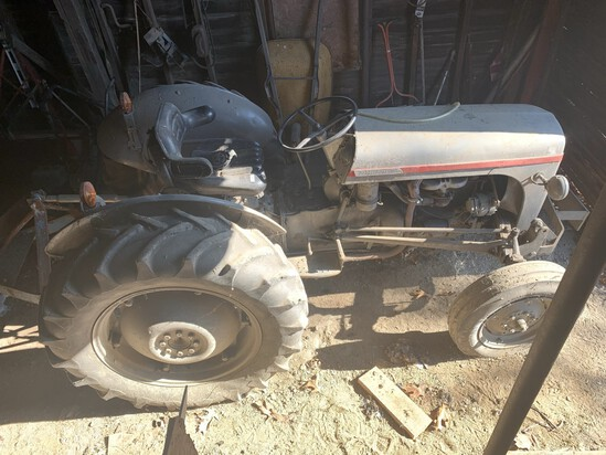 Old tractor, car, trucks, tools, farm items etc