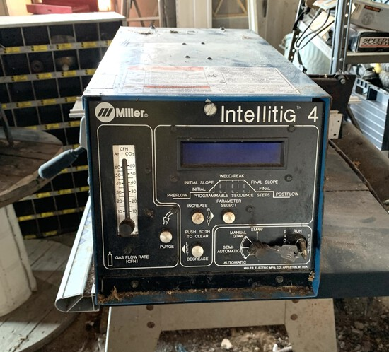 Miller Intellitig Tig Welder ( No Cables, Leads, Torch, Foot Pedal)