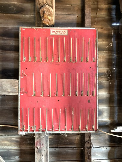 Vintage Bonney Tools Display Rack - Great Advertising Piece