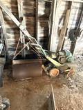 Chain Drive Tiller, Yard Roller, Aerator Spike
