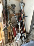 2 String Trimmers, Yard Tools, Saw & More