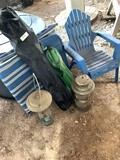 Camping items - Lanterns, Chairs, Kid Chair