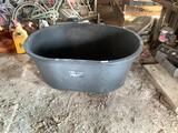 Plastic 110 Gal Oval Water Tank