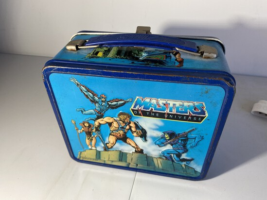 Vintage Metal Masters of the Universe Lunchbox