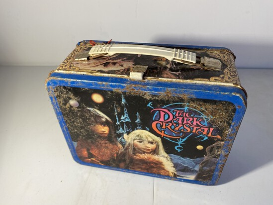 Vintage The Dark Crystal Metal Lunchbox