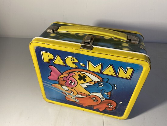 Vintage Metal Lunchbox Pac-Man