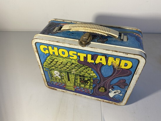 Vintage Metal Lunchbox Ghostland