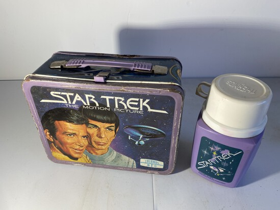 Vintage Metal Lunchbox Star Trek Motion Picture