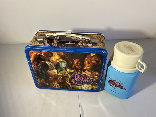 Vintage Metal Lunchbox The Dark Crystal