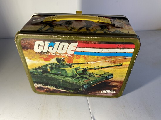 Vintage Metal Lunchbox GI Joe