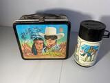 Vintage Legend of Lone Ranger Movie Lunchbox