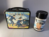 Vintage Metal Lunchbox Adam-12 with Thermos