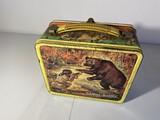 Vintage Metal Lunchbox - Daniel Boone