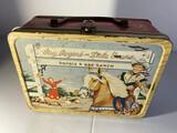 Vintage Metal Lunchbox - Roy Rogers