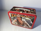 Vintage Metal Lunchbox Indiana Jones